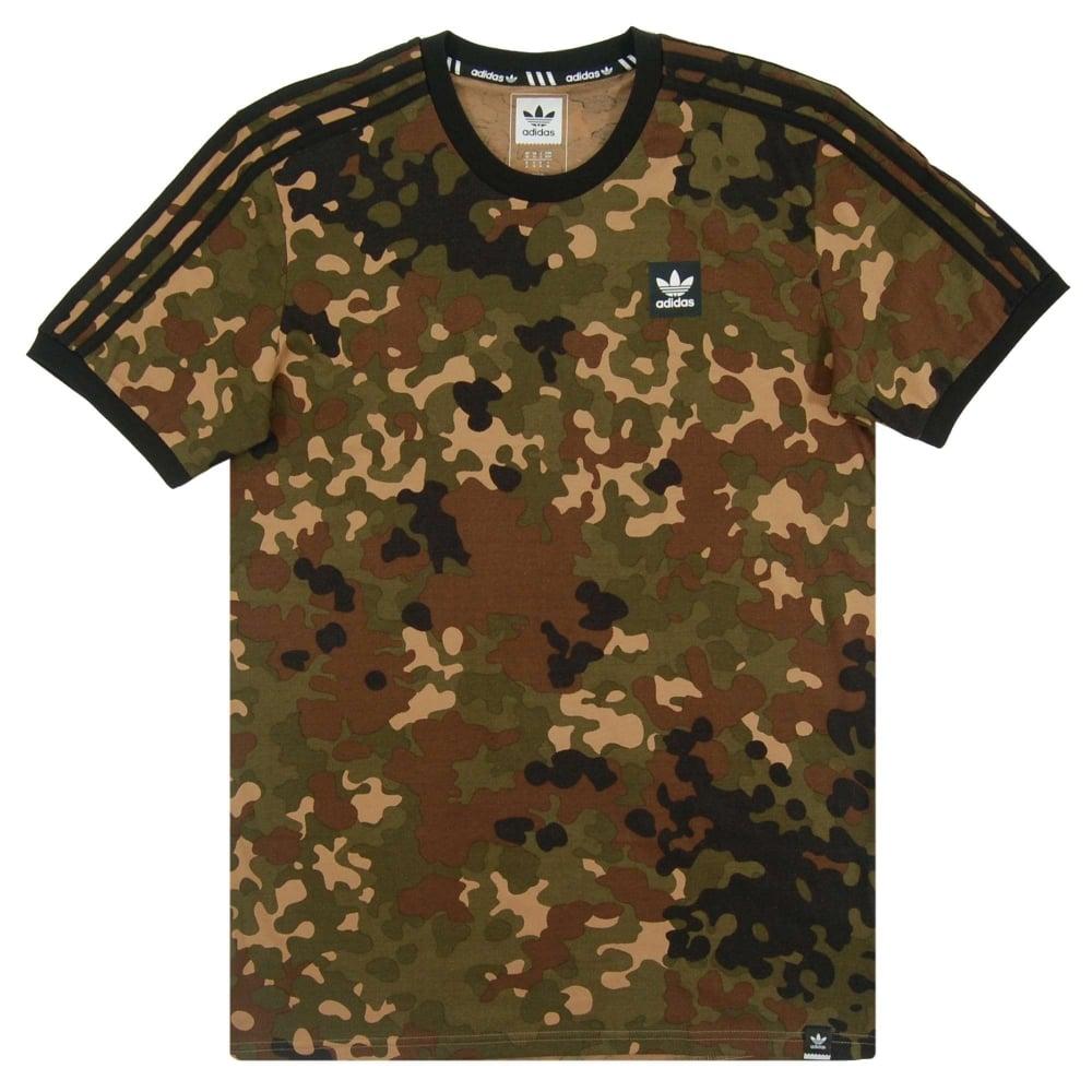 adidas originals camouflage t shirt camo mens clothing. Black Bedroom Furniture Sets. Home Design Ideas