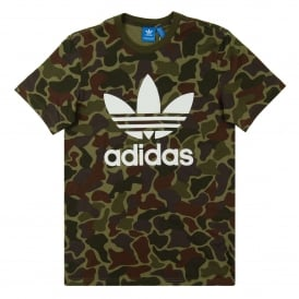 Camouflage T-Shirt Multicolor