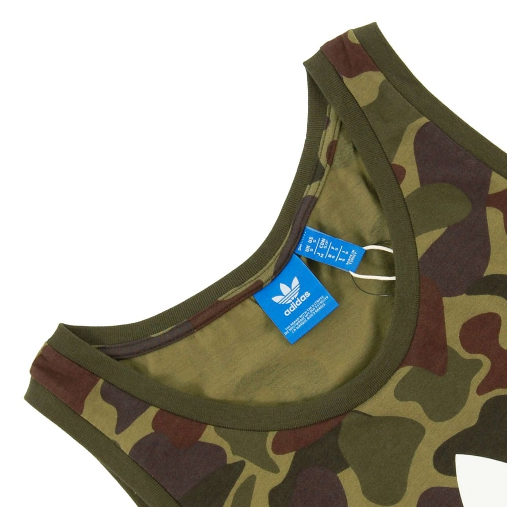 39c0041993ae3 Adidas Originals Camouflage Tank Top Multicolor - Mens Clothing from ...