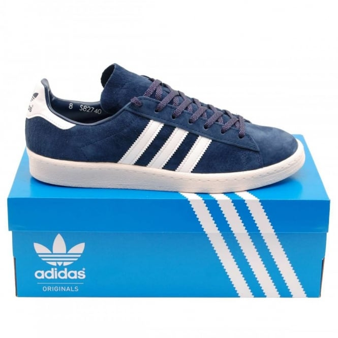check out b5d45 b788d Adidas Originals Campus 80s Japan Dark Blue Off White - Mens Clothing from  Attic Clothing UK