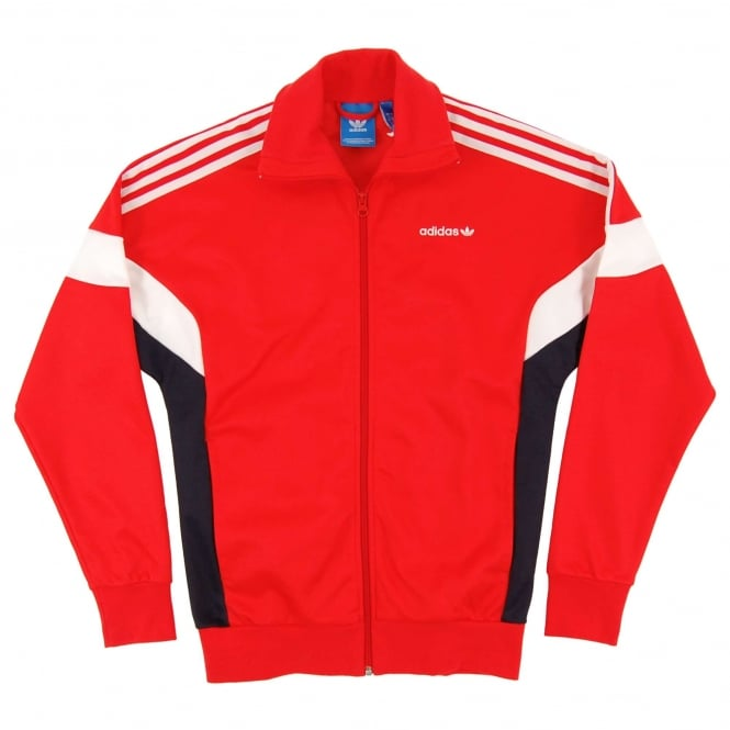 Adidas Originals Challenger 84 Track Top Core Red