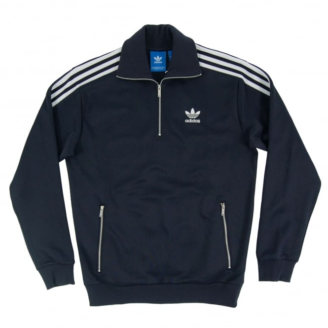 Adidas Originals CNTP Half Zip Track Top Legend Ink