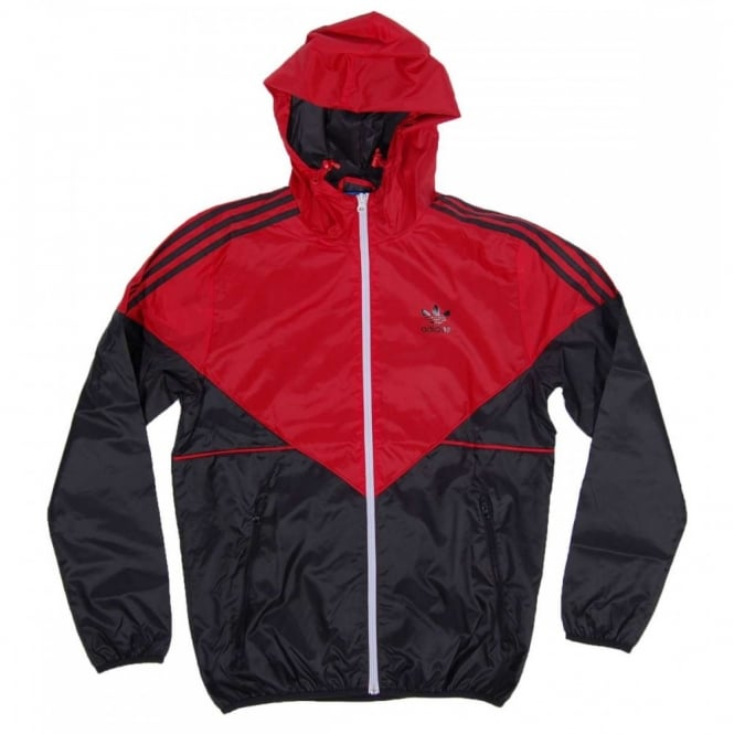 Adidas Originals Colorado Windbreaker Collegiate Red Black Mens