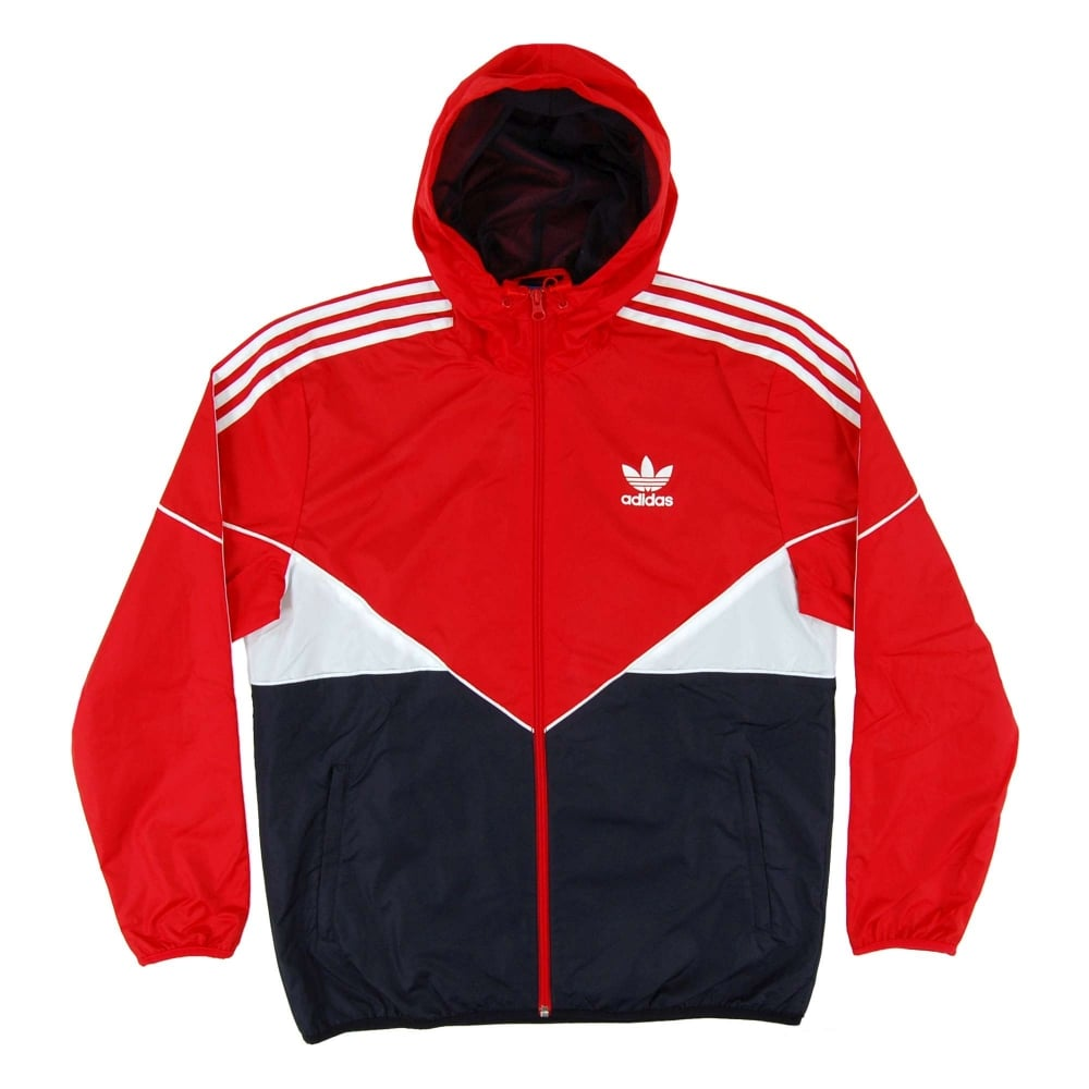 59af7eec9 Adidas Originals Colorado Windbreaker Vivid Red Legend Ink - Mens ...