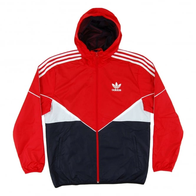 Adidas Originals Colorado Windbreaker Vivid Red Legend Ink