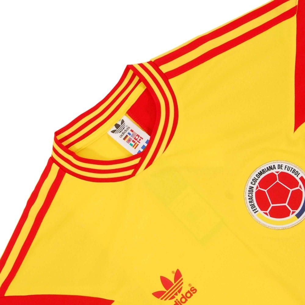 be7865549cf Adidas Originals Columbia 1990 Mash Up Pure Yellow - Mens Clothing ...