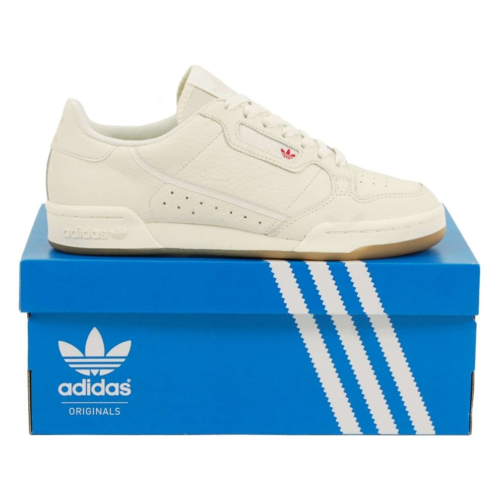 Adidas Originals Continental 80 Off White Raw White Gum - Mens ... 2c3f902b1