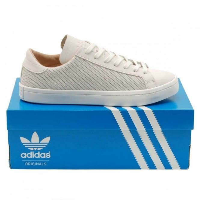 Adidas Originals Court Vantage Vintage White Dust Pearl - Mens Clothing from Attic Clothing UK