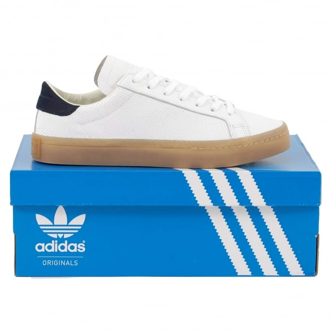 Adidas Originals Court Vantage White Navy Gum