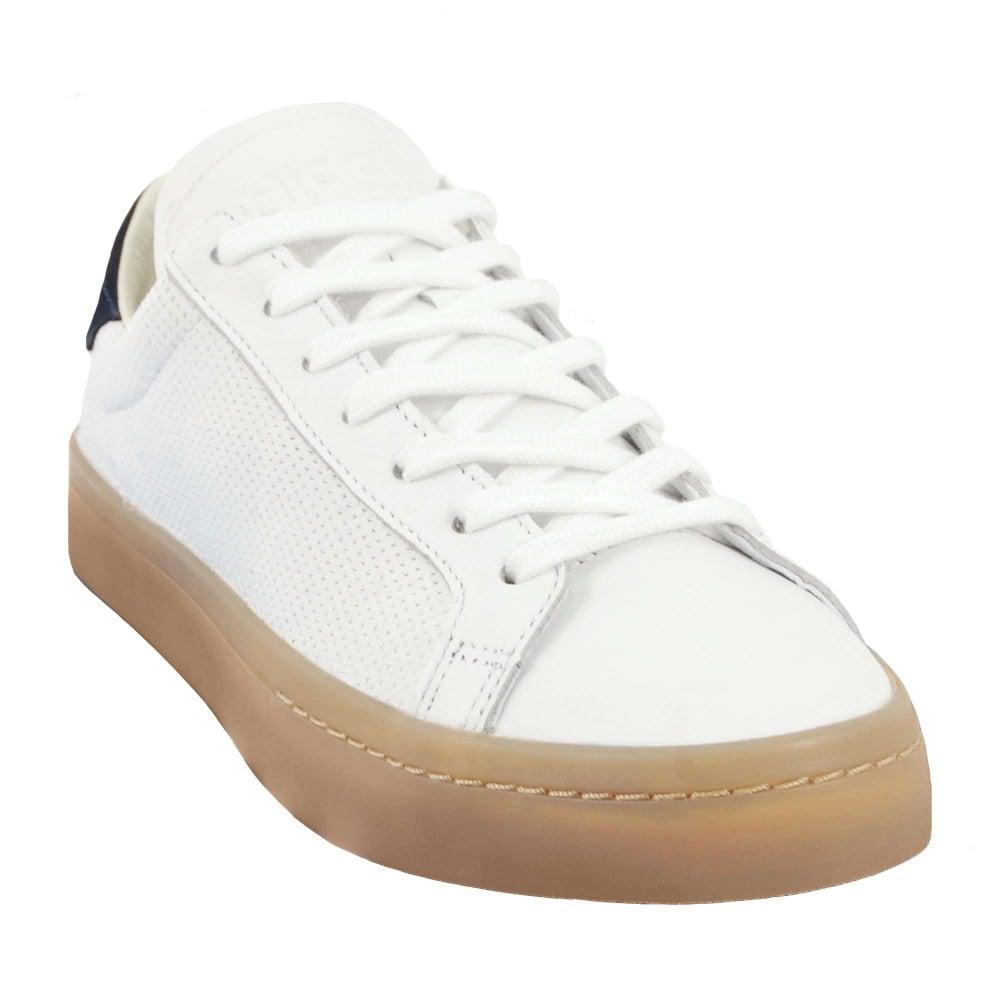 Adidas Originals Court Vantage White Navy Gum - Mens Clothing from ... 16d425ea3cb5
