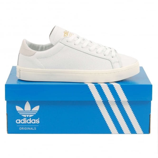 Adidas Originals Court Vantage White White White