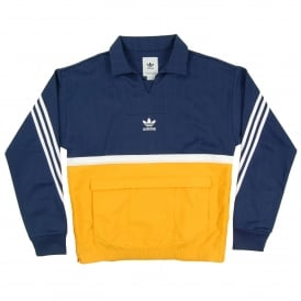 Drill Pullover Noble Indigo Collegiate Gold