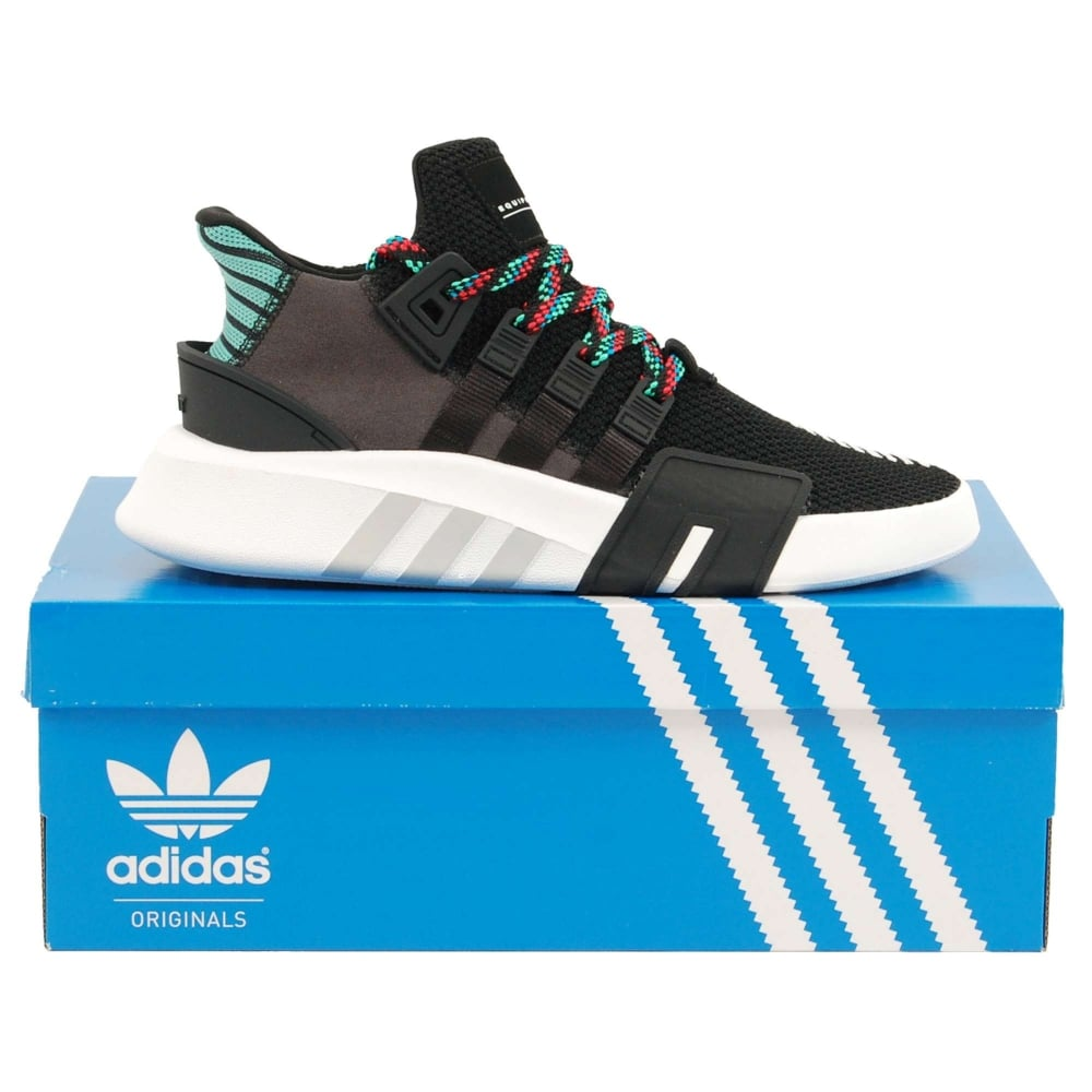 b99adcf51371 Adidas Originals EQT Basketball ADV Core Black Sub Green - Mens ...