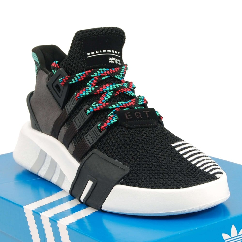 the best attitude fafd8 060d8 EQT Basketball ADV Core Black Sub Green