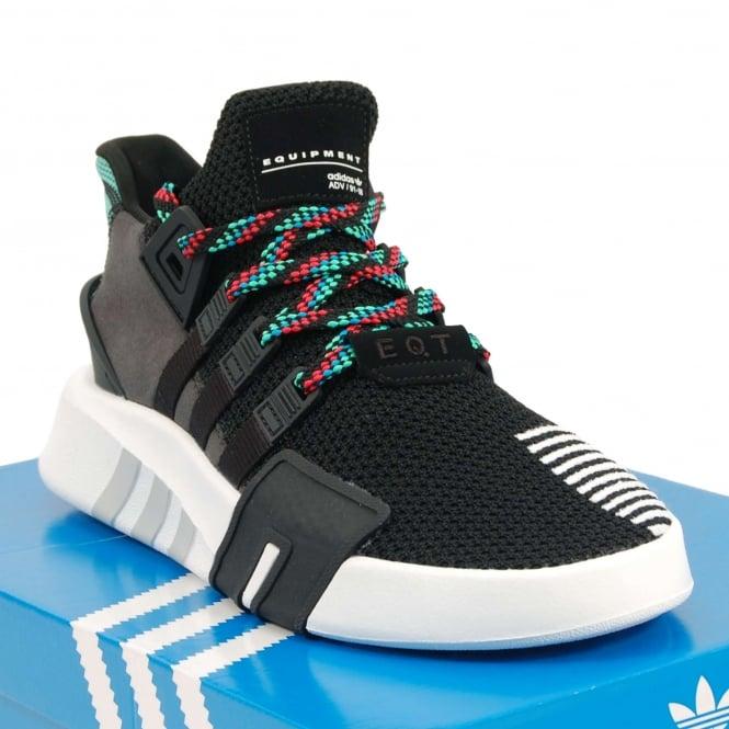4724674a6ebe Adidas Originals EQT Basketball ADV Core Black Sub Green - Mens ...