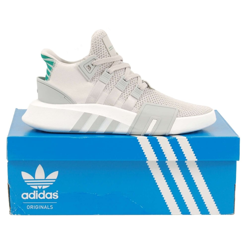 adidas OriginalsEQT BASK ADV - Trainers - grey one/sub green