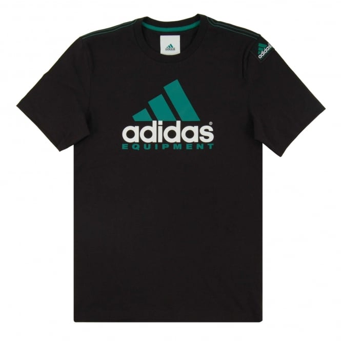 Adidas Originals EQT Logo T-Shirt Black