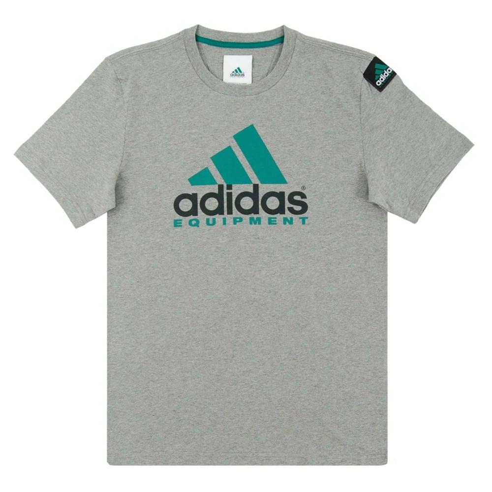 diccionario Realizable puerta  EQT Logo T-Shirt Core Heather - Mens Clothing from Attic Clothing UK