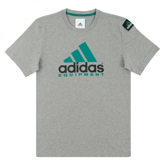 Adidas Originals EQT Logo T-Shirt Core Heather