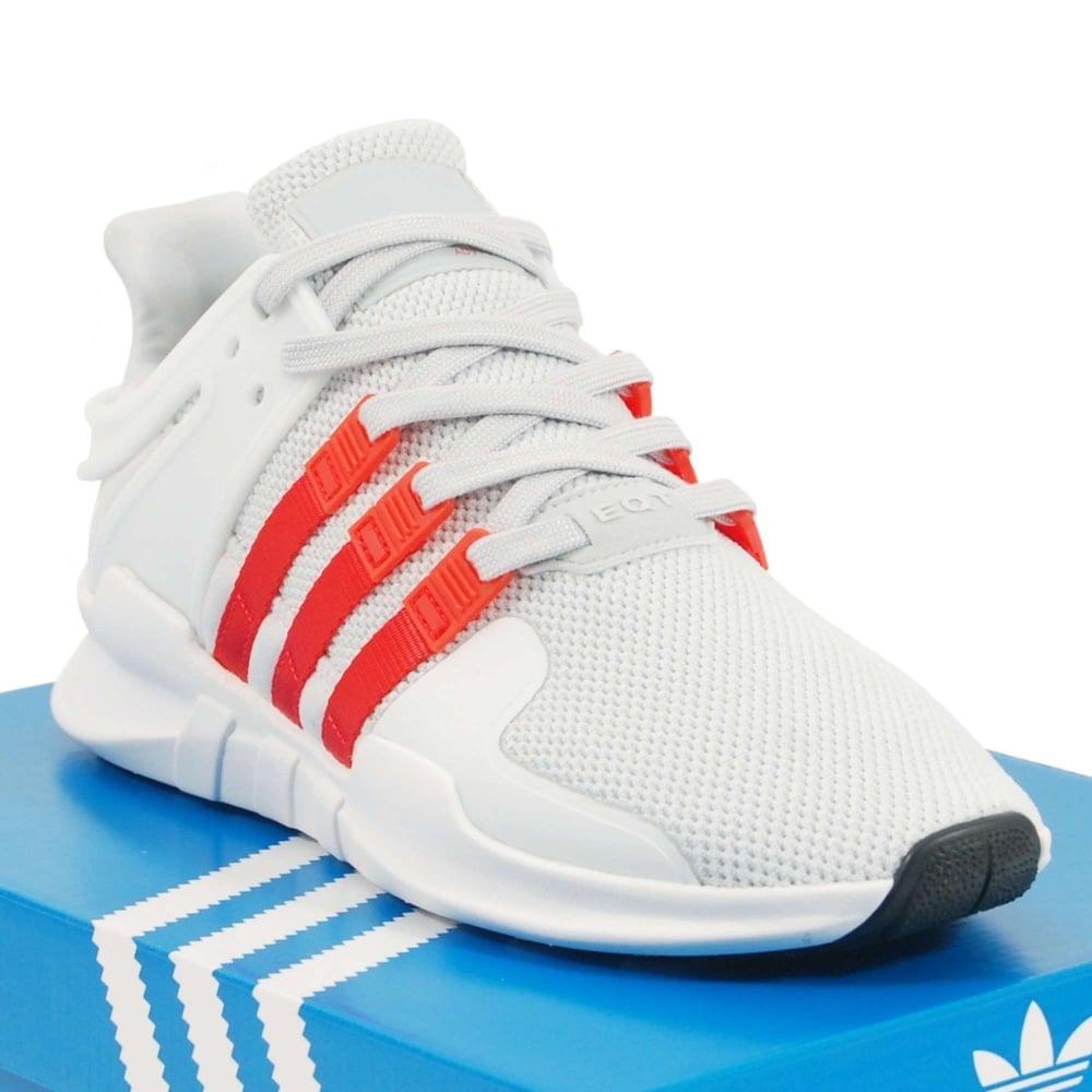 super popular 822b8 9b635 Adidas Originals EQT Support ADV Clear Grey Bold Orange Footwear White