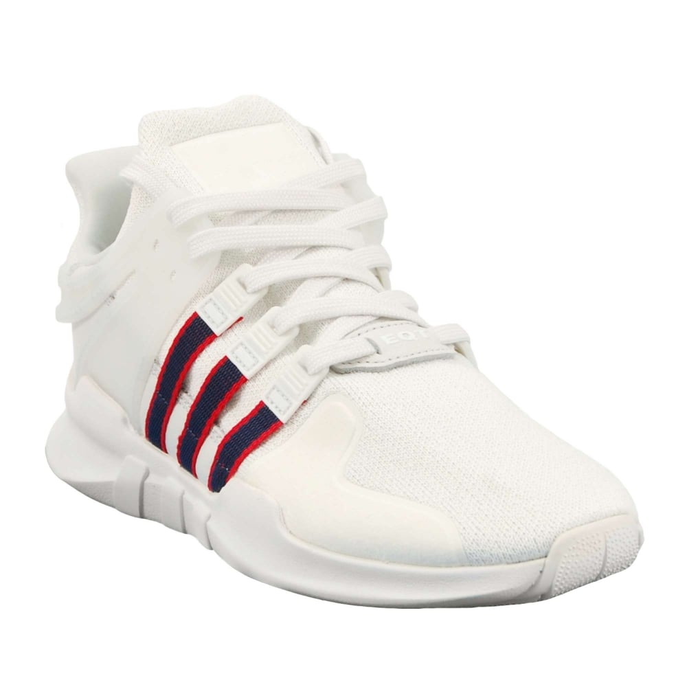 quality design 3d53d 5bb2b EQT Support ADV Crystal White Collegiate Navy Scarlet