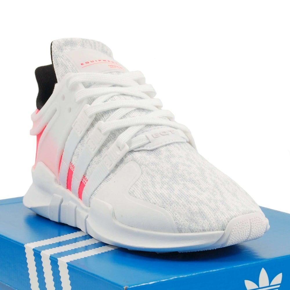 Adidas Originals EQT Support ADV Crystal White Footwear White Turbo ... f9f555c07840