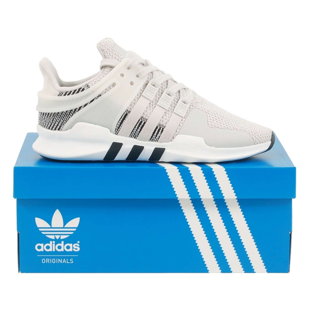 new style d9732 28036 Adidas Originals EQT Support ADV Footwear White Grey One