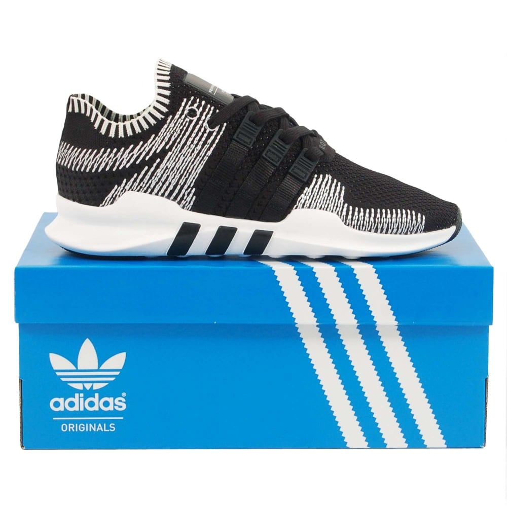 promo code 2bb40 e95b0 Adidas Originals EQT Support ADV Primeknit Core Black White