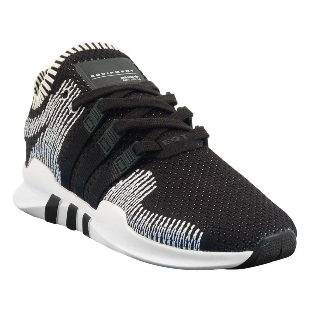 Adidas Originals Eqt Support Adv Primeknit Core Black White Mens