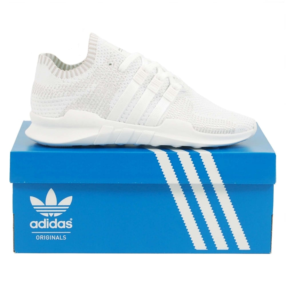 e0e40c0afc6 Adidas Originals EQT Support ADV Primeknit Footwear White - Mens Clothing  from Attic Clothing UK