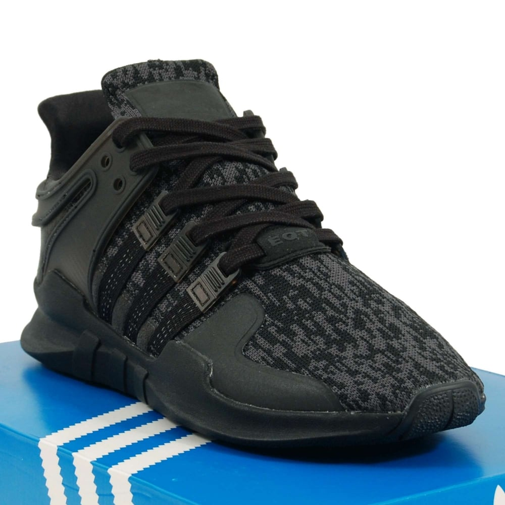 brand new 0ff24 d9e2d Adidas Originals EQT Support ADV Triple Black