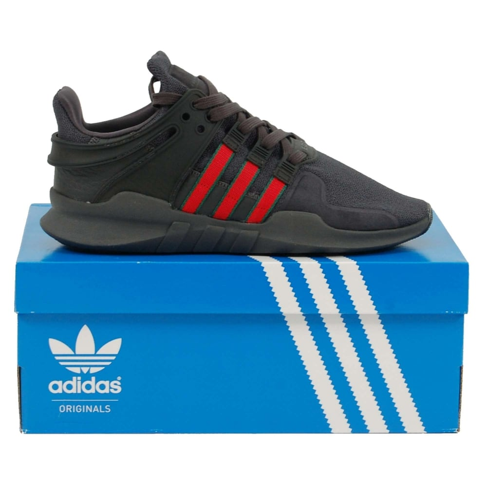 1691d255b431 Adidas Originals EQT Support ADV Utility Black Scarlet Collegiate ...
