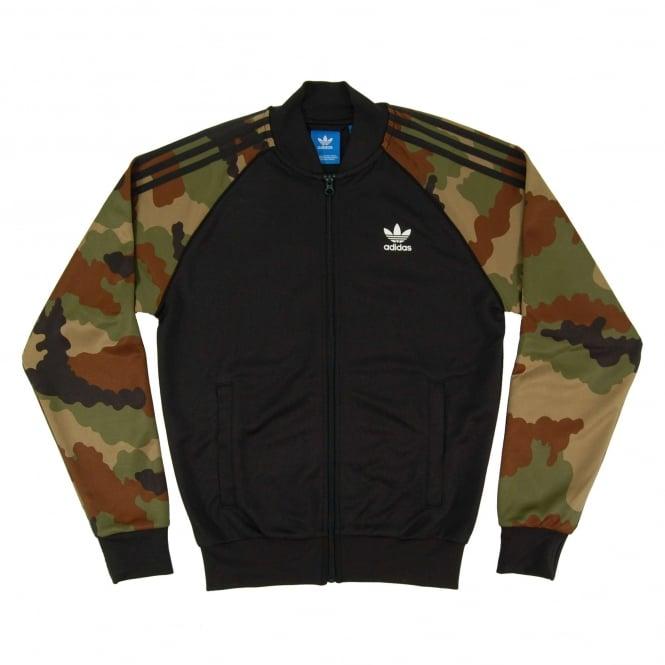 Adidas Originals Pista Súper Estrella Chaqueta De Camuflaje De Los Hombres naINOJ