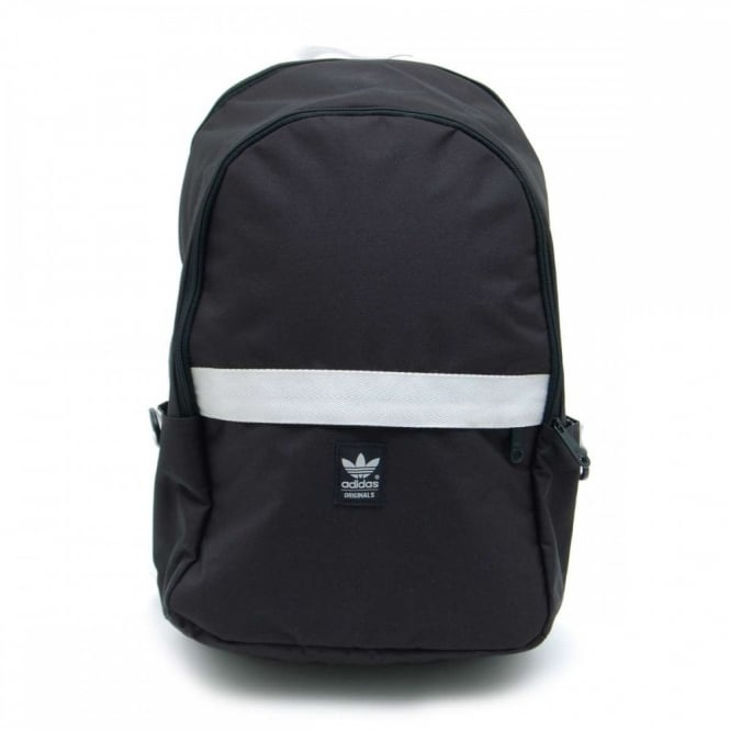 Adidas Originals Essential Backpack Black White - Mens Clothing from ... 227c9f5b8f