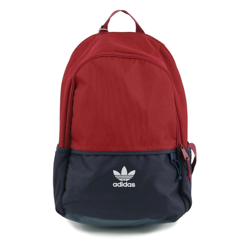 Adidas Originals Essential Backpack Collegiate Burgundy Collegiate ... 74c406b583