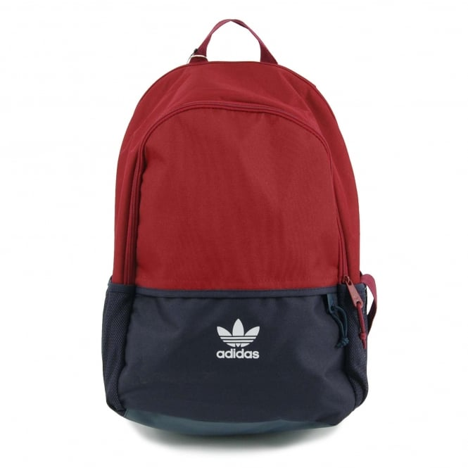 Adidas Originals Essential Backpack Collegiate Burgundy Collegiate Navy