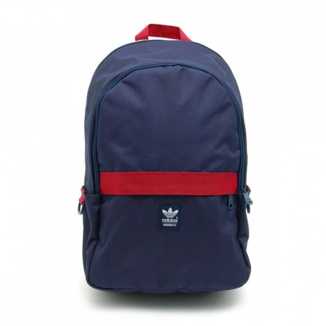 8a50abbcf4 Adidas Originals Essential Backpack Collegiate Navy Rust Red - Mens ...