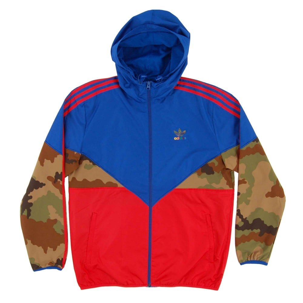 d7f99b5cb Adidas Originals Essential Colorado Windbreaker Collegiate Royal ...