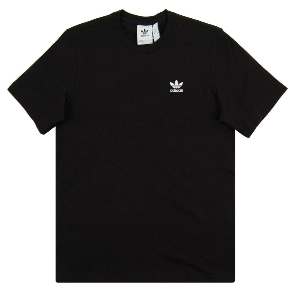 0764c975 Adidas Originals Essential T-Shirt Black - Mens Clothing from Attic ...