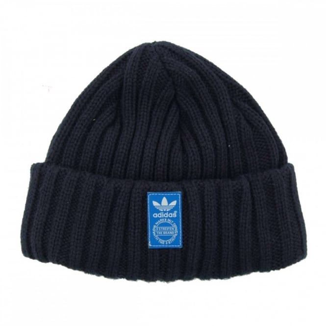 huge selection of a7481 3b7a5 Adidas Originals Fisherman Beanie Collegiate Navy