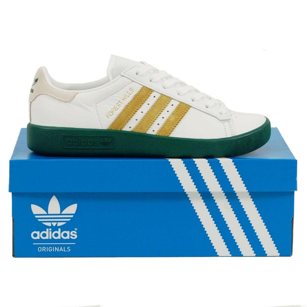 Adidas Originals Forest Hills Footwear White Gold Metallic ... 6b7923e61