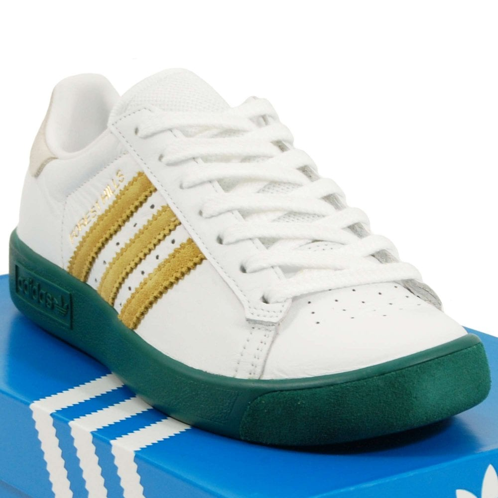 e7068ab82d5aa4 Adidas Originals Forest Hills Footwear White Gold Metallic ...