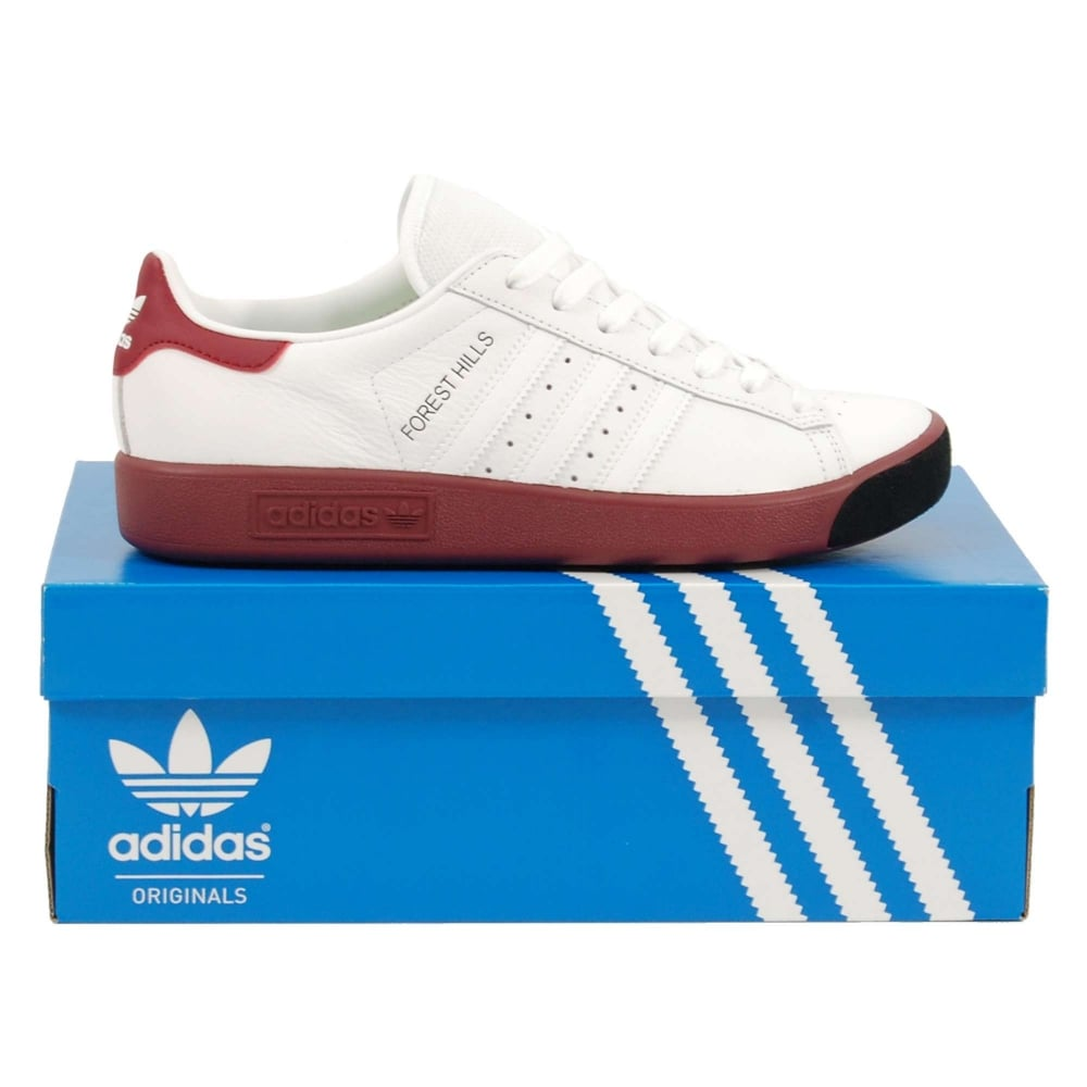Forest Hills Leather And Mesh Sneakers adidas Originals GW5X6