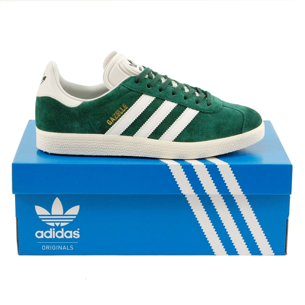 Adidas Originals Gazelle Collegiate Green Vintage White