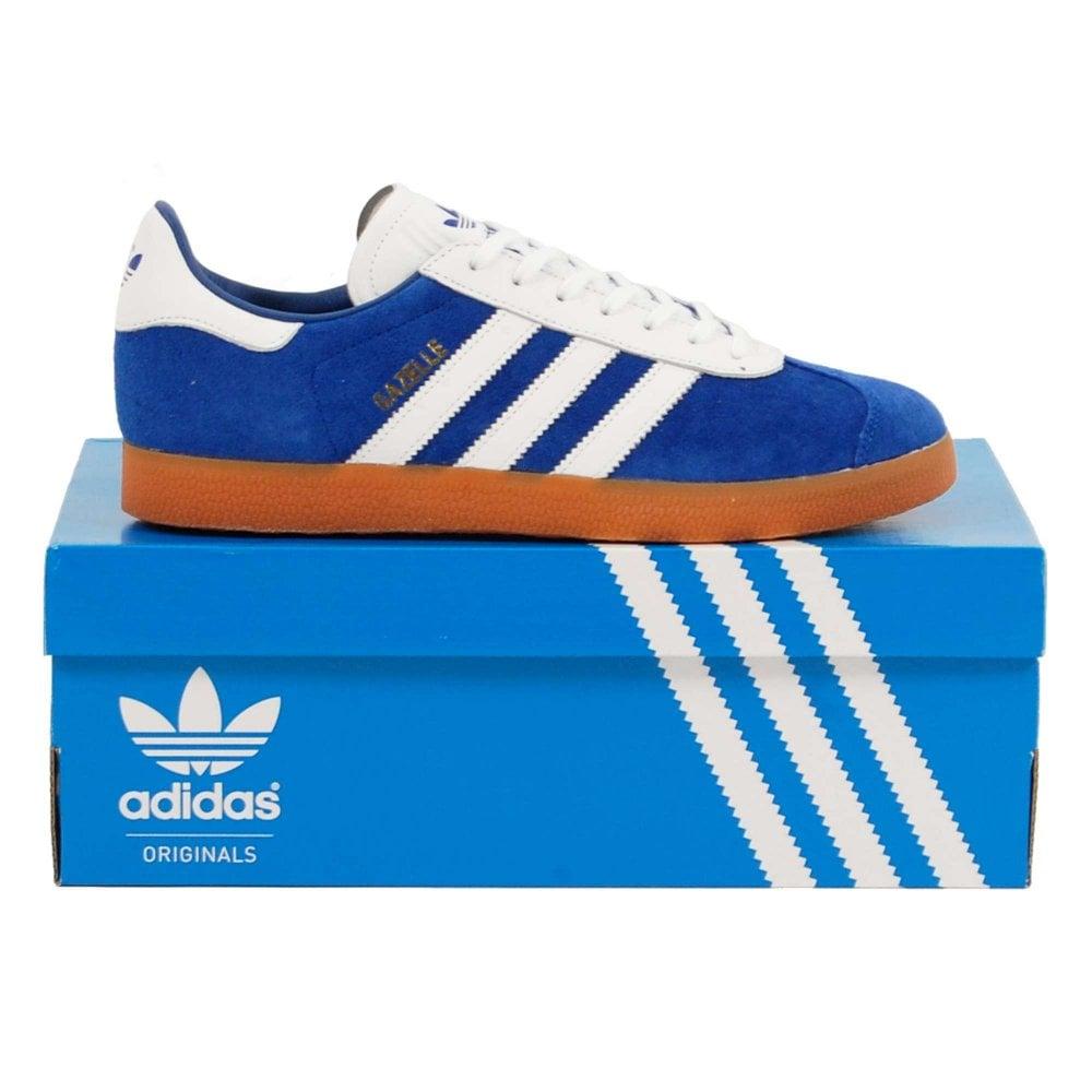 la meilleure attitude 34383 dc6c4 Adidas Originals Gazelle Collegiate Royal Footwear White Gum