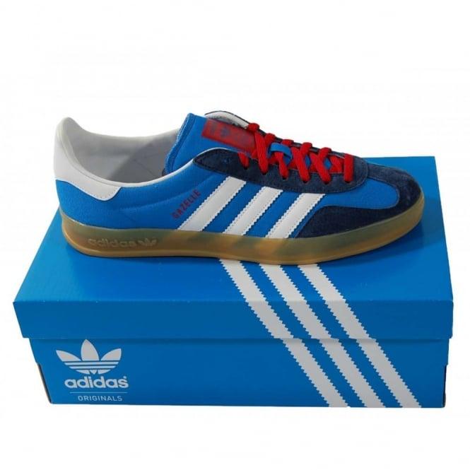 129f7716e79 Adidas Originals Gazelle Indoor Bluebird - Mens Clothing from Attic ...