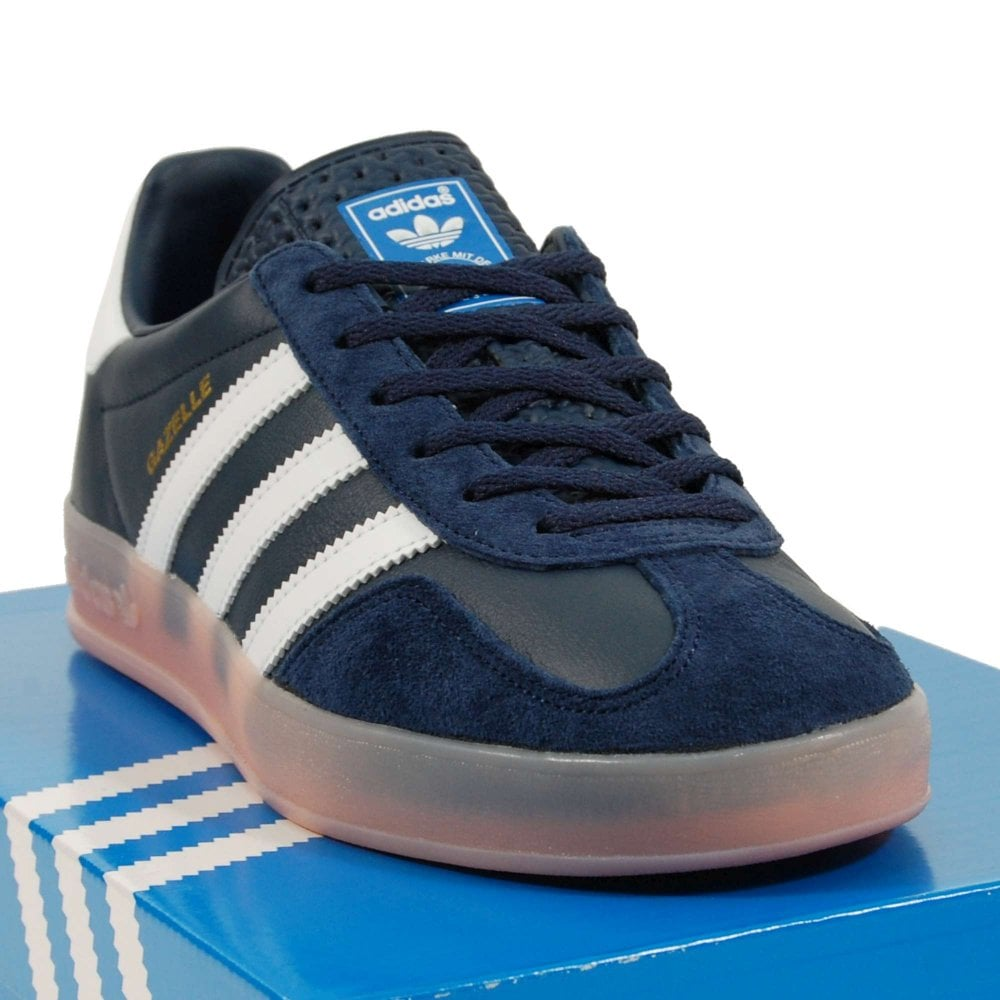 adidas Originals Gazelle Indoor, Collegiate Navy Footwear