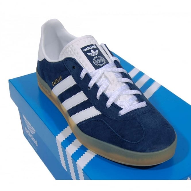 adidas gazelle navy white