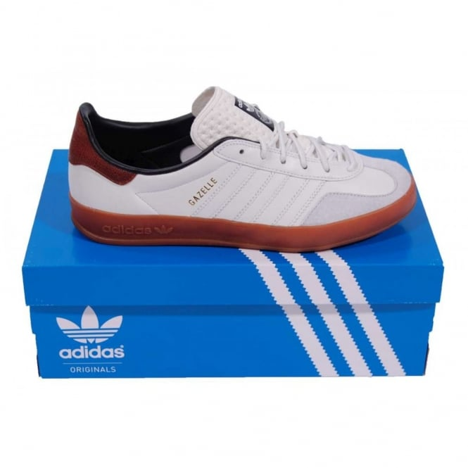 3e55b1e22b3a Adidas Originals Gazelle Indoor Neo White - Mens Clothing from Attic ...