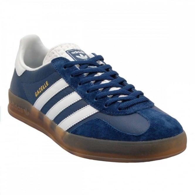 87cfed9d24e Adidas Originals Gazelle Indoor Oxford Blue White Gum - Mens ...